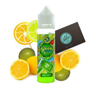 Lemon Lime Retro Lollipop