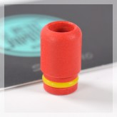 Red Acrylic Drip Tip 510