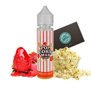 Strawberry Drizzle Pop Corn Man