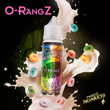O-Rangz Twelve Monkeys 50 ml