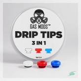 Drip Tips Gas Mods 3 in 1