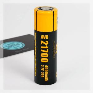 Avatar AVB 21700 30A 4000 mAh Battery