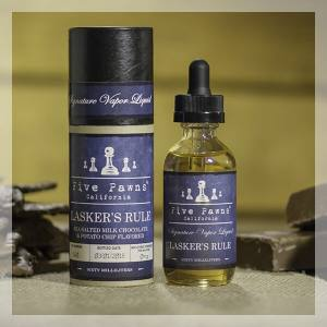 Lasker's Rule 50 ml Five Pawns