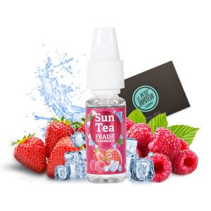 Strawberry and Raspberry Sun Tea Concentrate