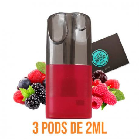 Red Fruits Nano Pods - Le French Liquide