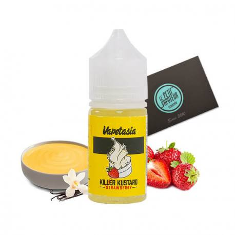 Concentré Killer Kustard Strawberry Vapetasia 30 ml