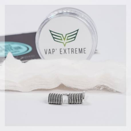 Fused Clapton SS316 - Vap'Extreme