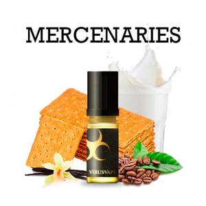 Concentré Mercenaries Virus Vape 10 ml