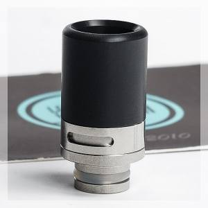 Steel and Delrin Adjustable Airflow 510 Drip Tip