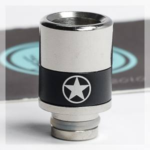 Alu and Steel Adjustable Airflow 510 Drip Tip