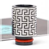 Chinese Patterns SS 510 Drip Tip