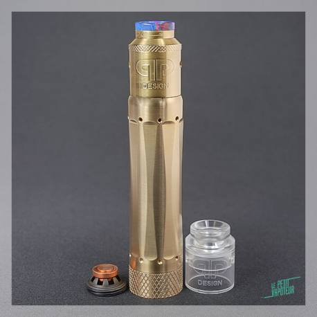 Brass Mech Mod Combo Limited Edition QP Design
