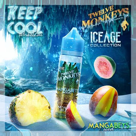 Mangabeys Iced Twelve Monkeys 50 ml