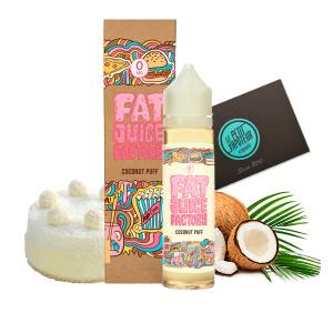 Coconut Puff Pulp Fat Juice Factory 50 ml