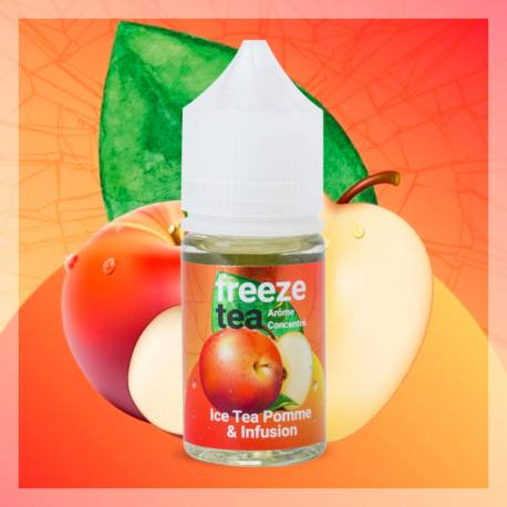 Concentré Ice Tea Pomme & Infusion Made In Vape 30 ml