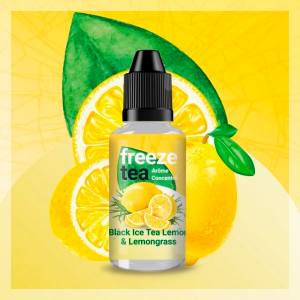 Concentré Black Ice Tea Lemon & Lemongrass Freeze Tea 30 ml