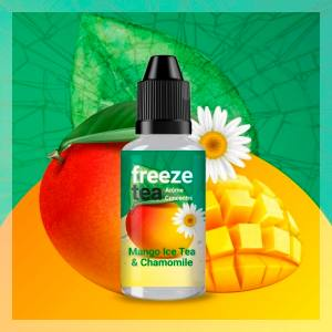 Concentré Mango Ice Tea & Chamomille Freeze Tea 30 ml