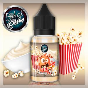 Concentrate Creamy Pop Belgi'Ohm 30 ml
