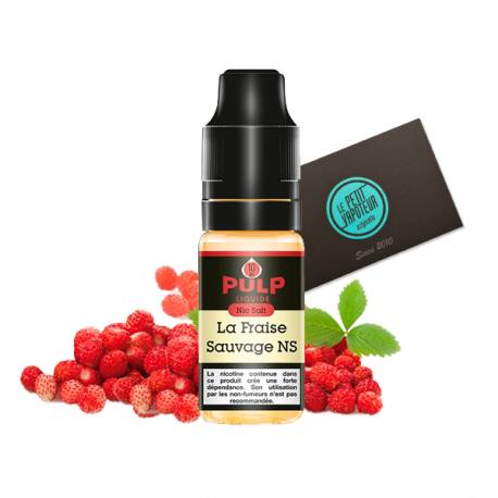 PULP Fraises Sauvages with Nicotine Salts