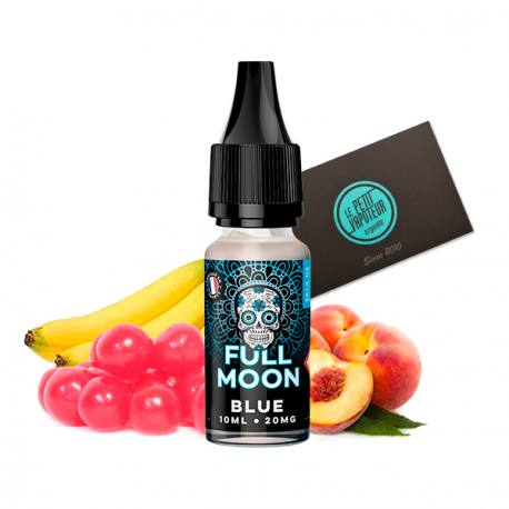 Blue Full Moon with Nicotine Salts