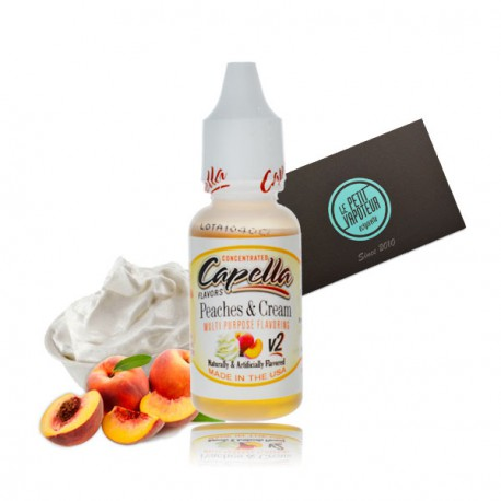Peaches and Cream V2 Capella Concentrate