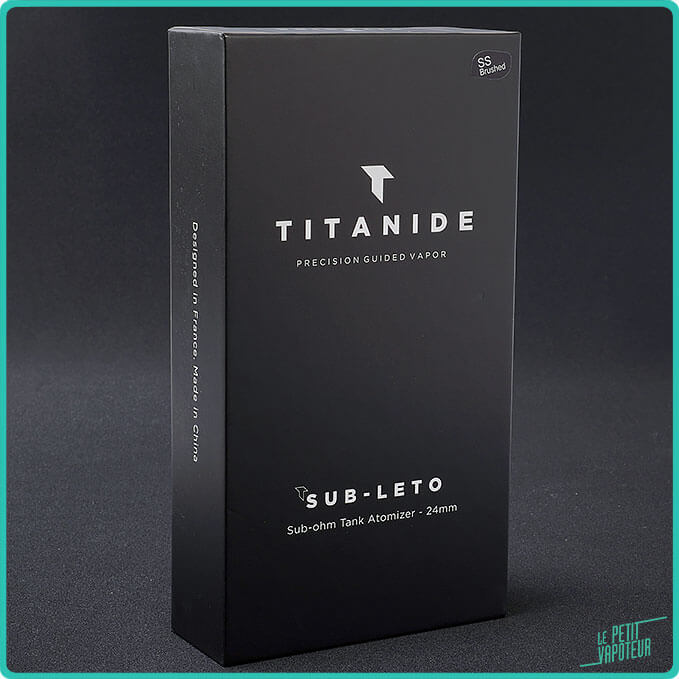 Packaging du Sub-Leto 24 Titanide