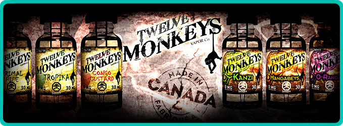 Image result for twelve monkeys e liquid