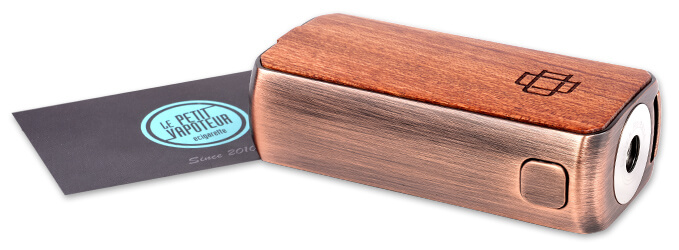 Презентация Box Druga Foxy Copper Wood Edition Augvape