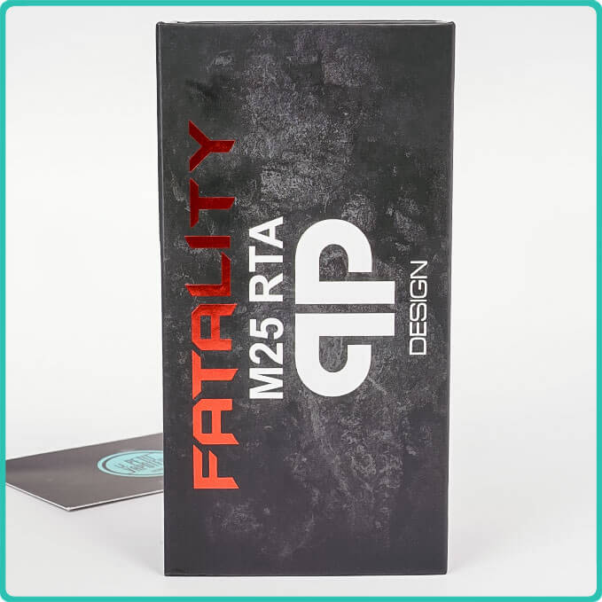 Packaging de l'Atomiseur Fatality M25 QP Design