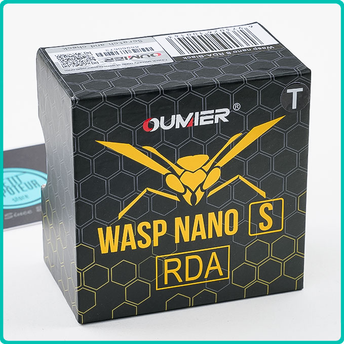 Packaging du Wasp Nano S RDA Oumier