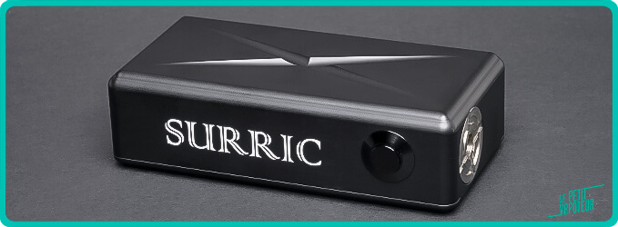 Design de la Surric XT SE Surric Vapes