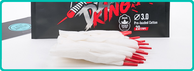 Packaging Dart King Cotton Coil Master