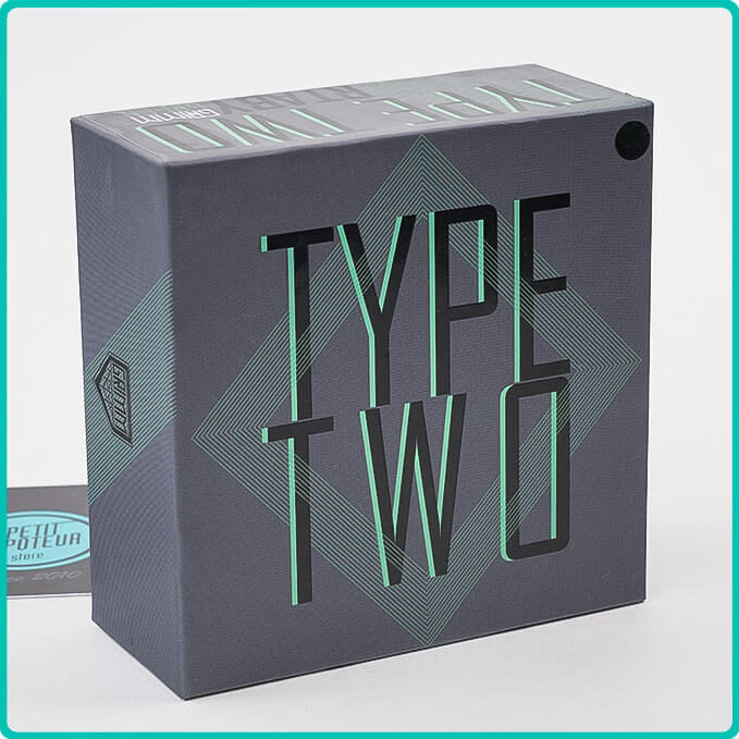 Packaging de l'Atomiseur Type Two RTA GrimmGreen