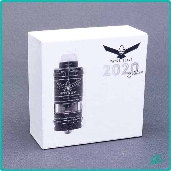 PAckaging du V6 M 2020 DLC Black Edition Vapor Giant