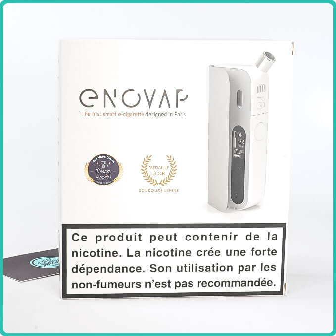 Packaging de l'enovap