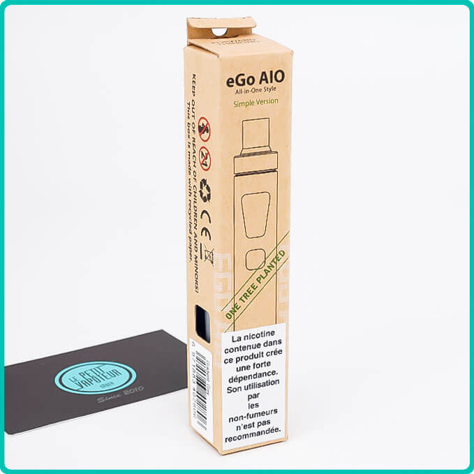 Packaging du Kit Ego AIO Eco Friendly