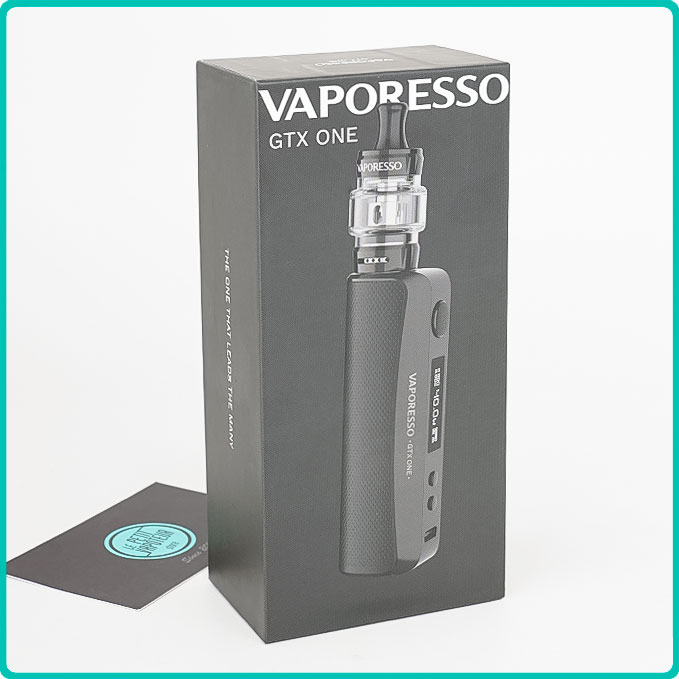 Packaging du Kit GTX One Vaporesso