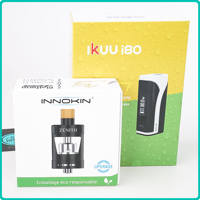 Packaging du Kit Ikuu Zenith