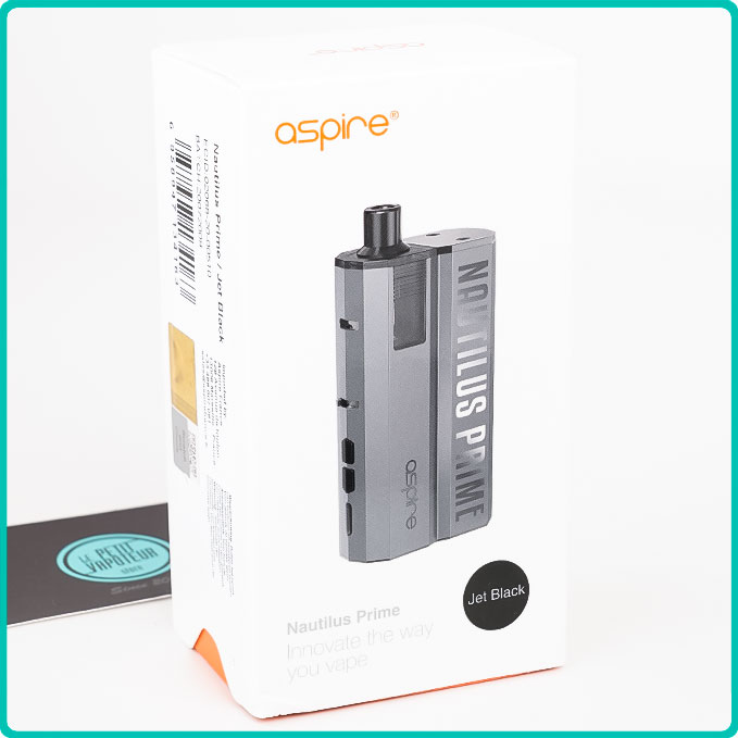Packaging Pod Nautilus Prime Aspire