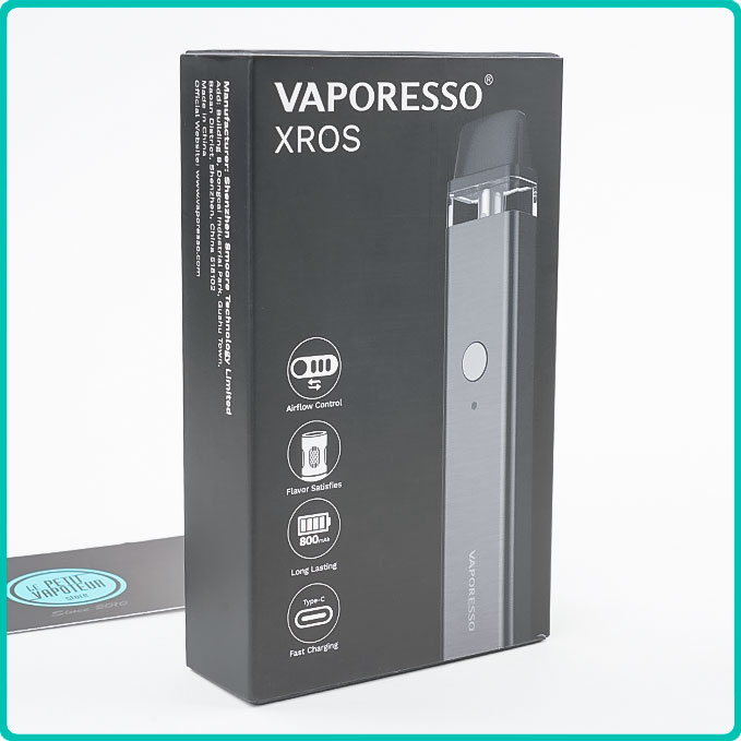 Packaging du Pod XROS Vaporesso