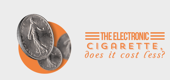The Electronic Cigarette, does it cost less ?