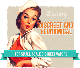 For small-scale discreet vapers