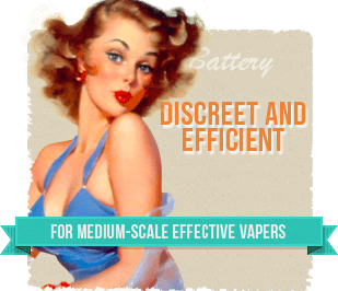 For medium-scale effective vapers